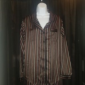 NWOT Womens stripped Beautifully soft pajama set
